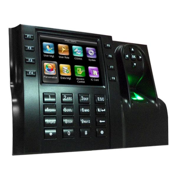 HS iClock 560 control de presència lleida control terminal reconeixement lector targeta teclat emprempta dactilar password contrasenya fitxatge fitxar