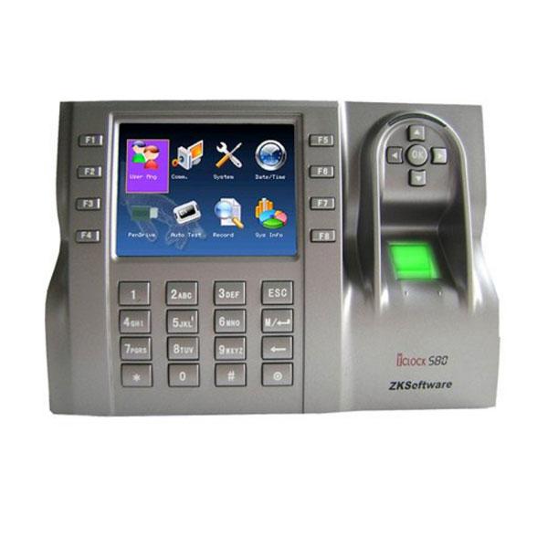 HS iClock 580 control de presència d' accés lleida control terminal reconeixement lector targeta teclat emprempta dactilar fitxatge fitxar horaris