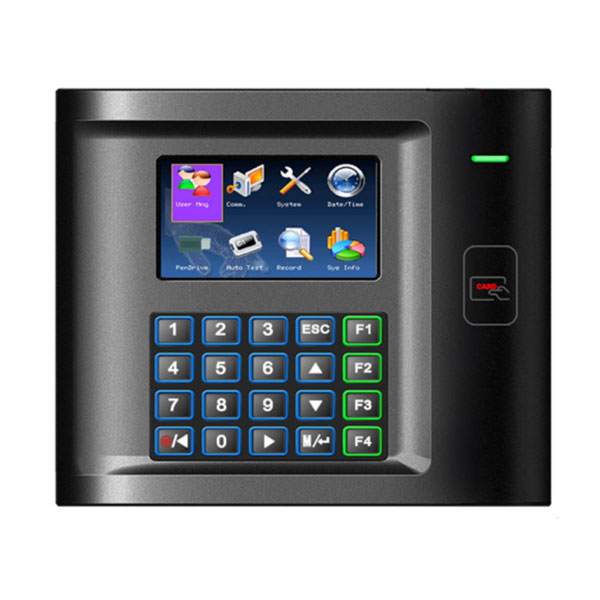 HS US10C-R control de presència lleida control terminal reconeixement lector targeta teclat password contrasenya fitxatge fitxar